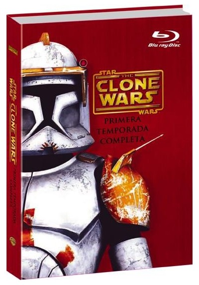 Star Wars: The Clone Wars - 1ª Temporada (Blu-Ray)
