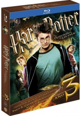 Harry Potter Y El Prisionero De Azkaban (Blu-Ray) (Ed. Libro) (Harry Potter And The Prisoner Of Azkaban)