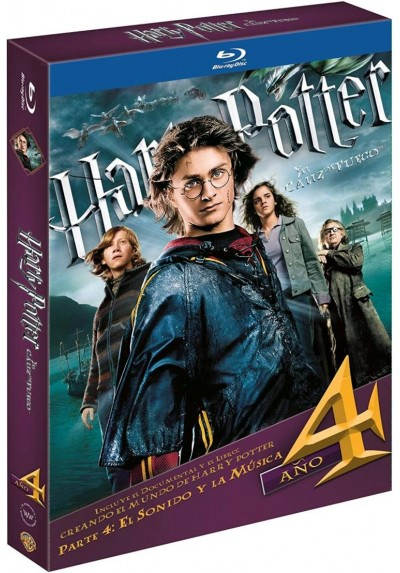 Harry Potter Y El Caliz De Fuego (Blu-Ray) (Ed. Libro) (Harry Potter And The Goblet Of Fire)