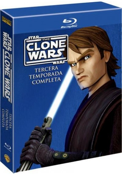 Star Wars: The Clone Wars - 3ª Temporada (Blu-Ray)