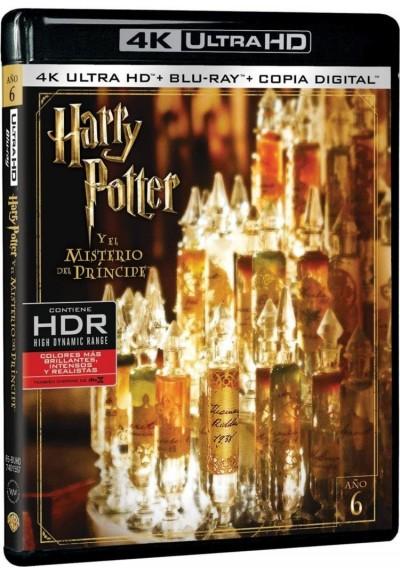 Harry Potter Y El Misterio Del Príncipe (Blu-Ray 4k Ultra Hd + Blu-Ray + Copia Digital) (Harry Potter And The Half-Blood Prince)