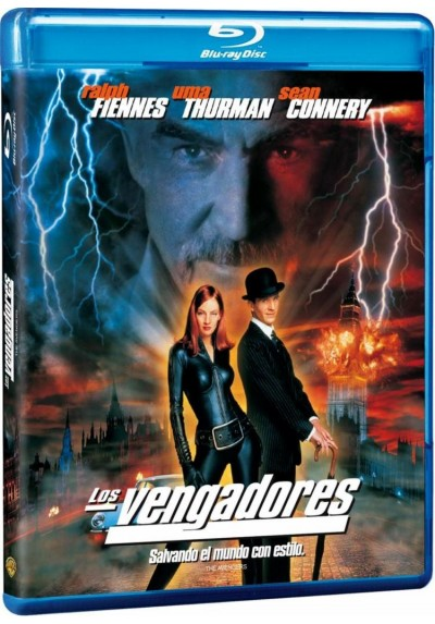 Los Vengadores (1998) (Blu-Ray) (The Avengers)