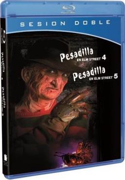 Pesadilla En Elm Street 4 y 5 (Blu-ray)