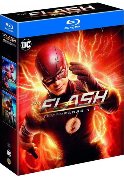 Pack The Flash - 1ª + 2ª Temporada (Blu-Ray)