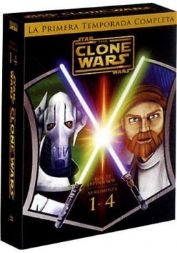 Pack Star Wars: The Clone Wars - 1ª Temporada Completa