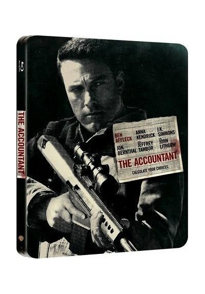 El Contable (Blu-Ray + Copia Digital) (The Accountant) (Edicion Metalica )