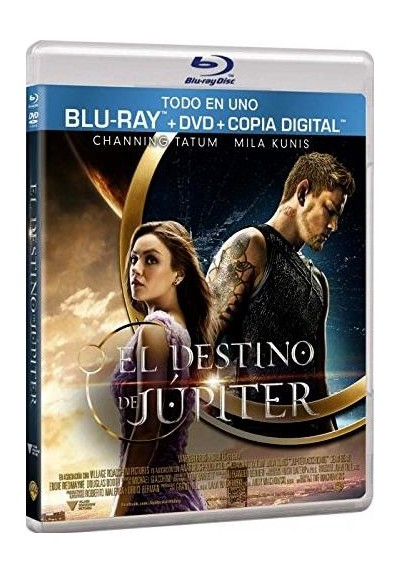 El Destino De Jupiter (Blu-Ray + Dvd + Copia Digital) (Jupiter Ascending)