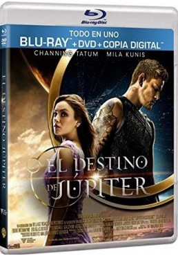 El Destino De Jupiter (Blu-Ray + Dvd + Copia Digital) (Jupiter Ascending)