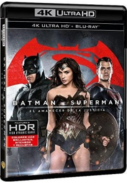 Batman V Superman : El Amanecer De La Justicia (Blu-Ray 4k Ultra Hd + Blu-Ray + Copia Digital) (Batman V Superman: Dawn Of Justi