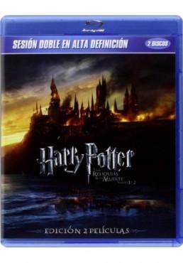 Pack Harry Potter Y Las Reliquias De La Muerte - 1ª Y 2ª Parte (Blu-Ray)