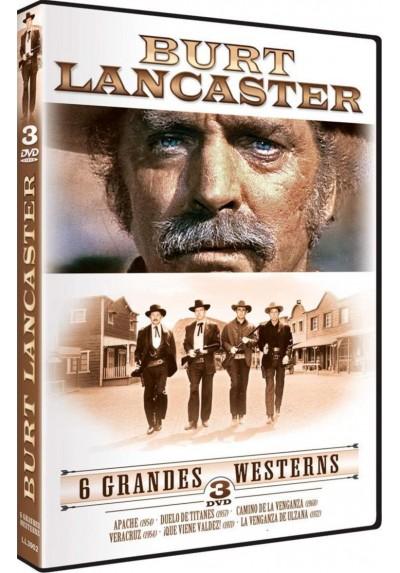 Pack Burt Lancaster - 6 Grandes Westerns