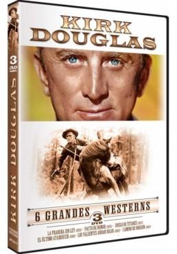 Pack Kirk Douglas: 6 Grandes Westerns