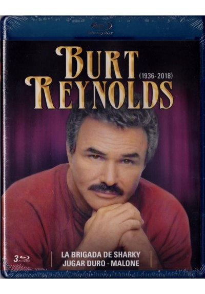 Pack Burt Reynolds : Jugar Duro / La Brigada De Sharky / Malone (Blu-Ray)