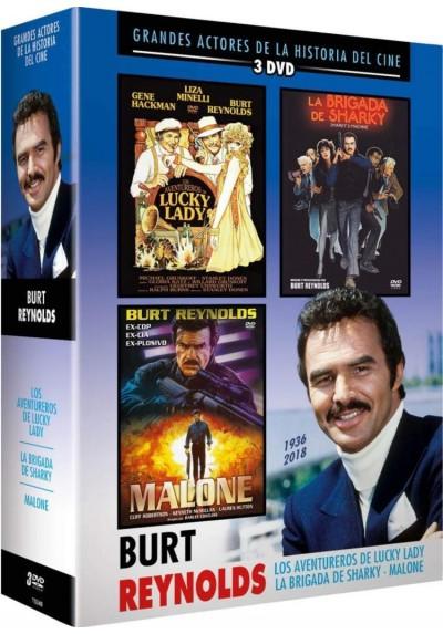 Pack Burt Reynolds: La Brigada De Sharky / Los Aventureros De Lucky Lady / Malone
