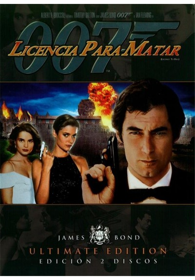 Licencia Para Matar - Ultimate Edition 2 Discos (Licence to Kill)