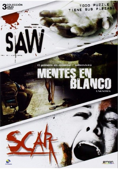 Pack Saw / Mentes En Blanco / Scar
