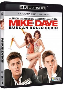 Mike Y Dave Buscan Rollo Serio (Blu-Ray 4k Ultra Hd + Blu-Ray) (Mike And Dave Need Wedding Dates)