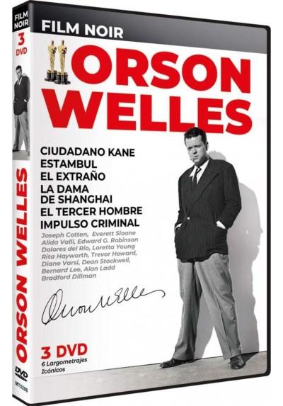Pack Film Noir Orson Welles: 6 Largometrajes Icónicos