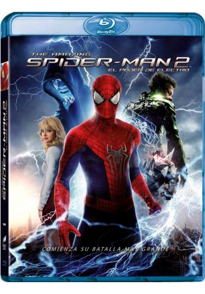 The Amazing Spider-Man 2: El Poder De Electro (Blu-Ray 3d + Blu-Ray)