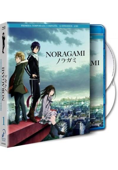 Noragami - 1ª Temporada (Blu-Ray + Extras)