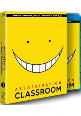 Assassination Classroom - 1ª Temporada - 1ª Parte (Blu-Ray)