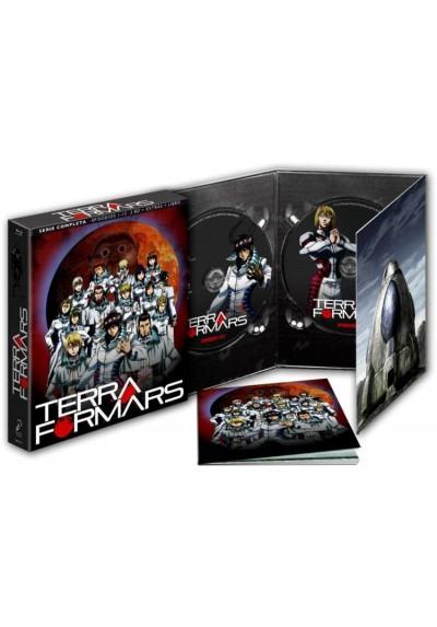 Terra Formars - 1 ª Temporada (Blu-Ray + Extras + Libro)