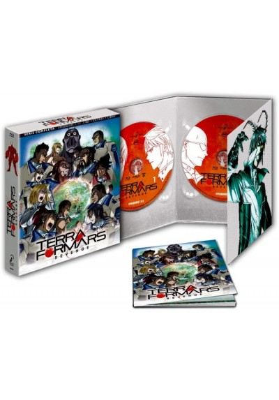 Terra Formars - 2 ª Temporada (Blu-Ray + Extras + Libro)