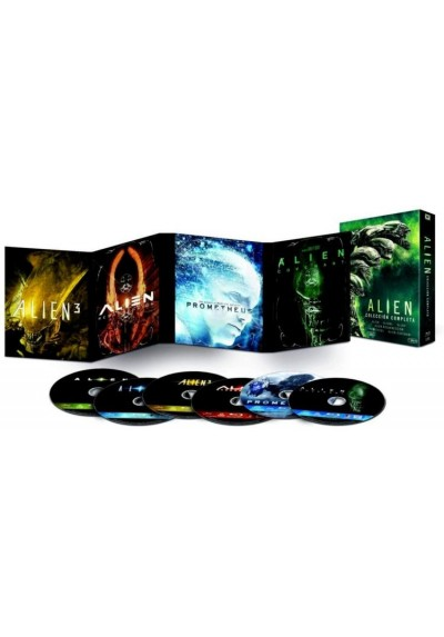 Pack Alien - Coleccion completa (Blu-ray)