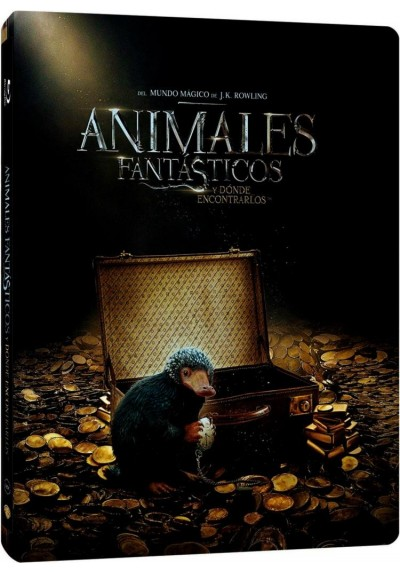 Animales Fantásticos Y Dónde Encontrarlos (Blu-Ray + Dvd + Copia Digital) (Ed. Metálica) (Fantastic Beasts And Where To Find The