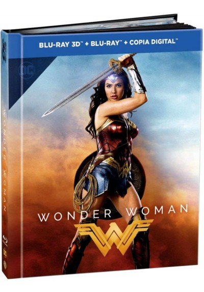 Wonder Woman (2017) (Blu-Ray 3d + Blu-Ray + Copia Digital) (Ed. Digibook)