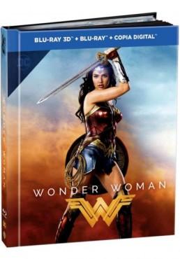 Wonder Woman (2017) (Blu-Ray 3d + Blu-Ray + Copia Digital) (Ed. Digibook)