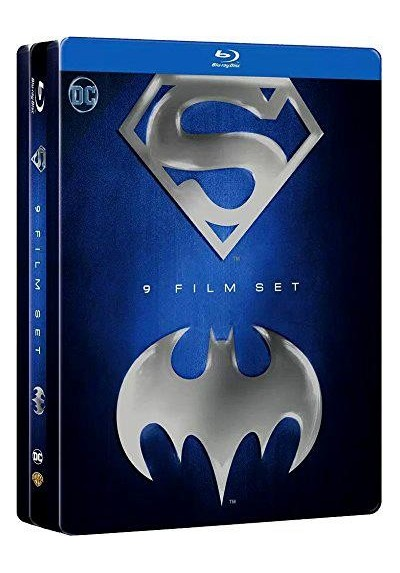 Pack Batman & Superman Antología (Blu-Ray) (Ed. Metálica)
