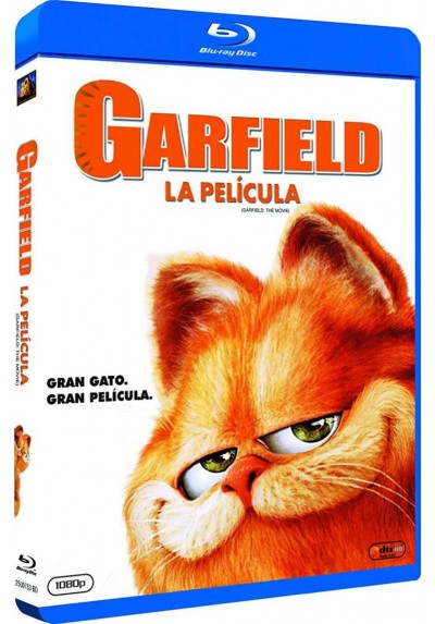 Garfield, La Película (Blu-Ray) (Garfield: The Movie)
