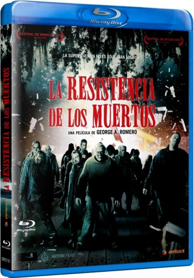 La Resistencia De Los Muertos (Blu-Ray) (Bd-R) (Survival Of The Dead)