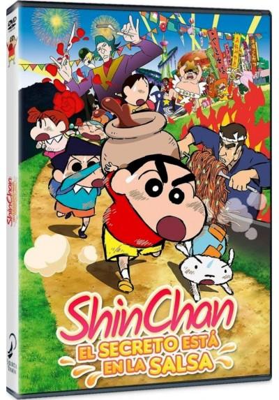 Shin Chan: El Secreto Está En La Salsa (Eiga Crayon Shin-Chan: Bakauma! B-Kyû Gourmet Survival!)