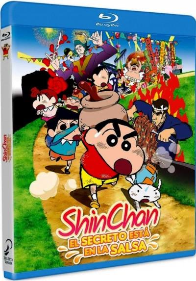 Shin Chan: El Secreto Está En La Salsa (Blu-Ray) (Eiga Crayon Shin-Chan: Bakauma! B-Kyû Gourmet Survival!)