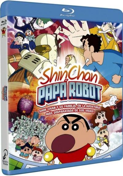 Shin Chan: Papá Robot (Blu-Ray) (Kureyon Shin-Chan: Gachinko! Gyakushu No Robo To-Chan)