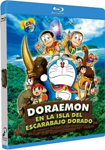 Doraemon En La Isla Del Escarabajo Dorado (Blu-Ray) (Doraemon: Nobita To Kiseki No Shima. Animaru Adobenchâ)