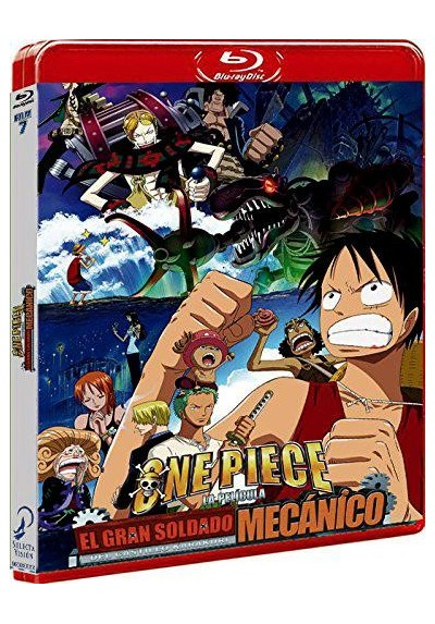 One Piece - El Gran Soldado Mecánico Del Castillo Karakuri (Blu-Ray) (One Piece: Karakurijou No Mecha Kyohei)
