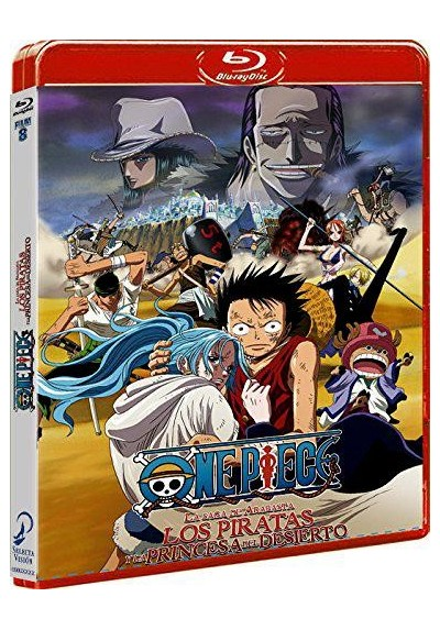 One Piece - Los Piratas Y La Princesa Del Desierto (Blu-Ray) (One Piece - Sabaku No Ojou To Kaizoku Tachi)
