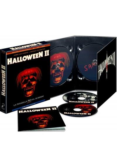 Halloween II (Blu-Ray + Dvd + Libro) (Ed. Coleccionista)
