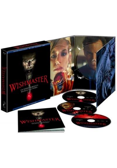 Wishmaster (Blu-Ray + Dvd + Libro) (Ed. Coleccionista)