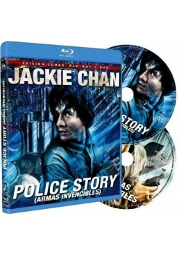 Police Story (Armas Invencibles) (Blu-Ray + Dvd) (Ging Chat Goo Si)