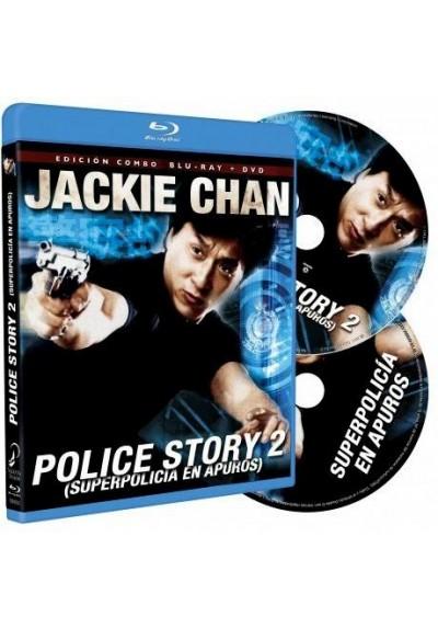 Police Story II (Superpolicía En Apuros) (Blu-Ray + Dvd) (Ging Chaat Goo Si Juk Jaap)