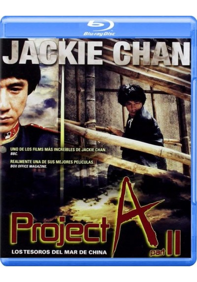 Los Tesoros Del Mar De China (Project A II)(Blu-Ray) (A' Gai Wak 2)