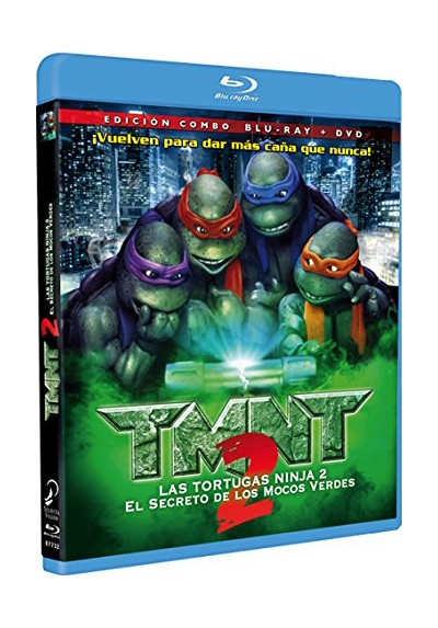 Tortugas Ninja 2: El Secreto De Los Mocos Verdes (Blu-Ray + Dvd) (Teenage Mutant Ninja Turtles 2)