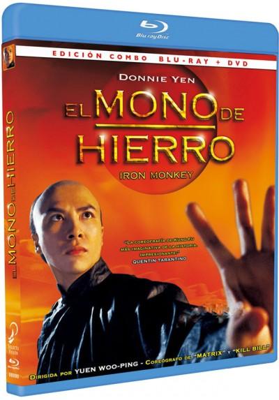 El Mono De Hierro (Blu-Ray + Dvd) (Siu Nin Wong Fei Hung Ji: Tit Ma Lau)