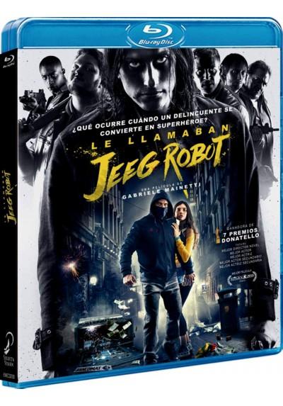 Le Llamaban Jeeg Robot (Blu-Ray) (Lo Chiamavano Jeeg Robot)