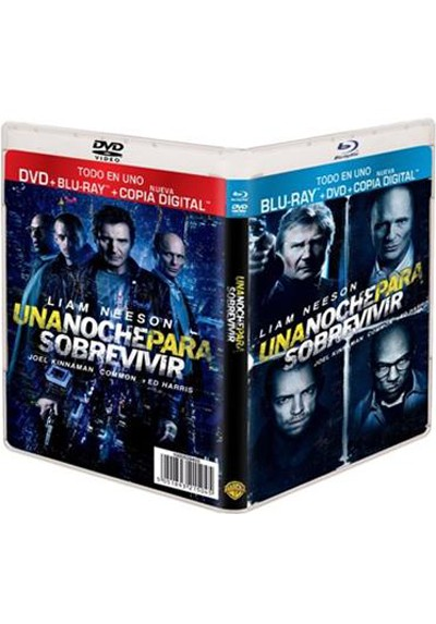 Una Noche Para Sobrevivir (Blu-Ray+dvd+copia Digital) (Run All Night)