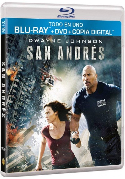 San Andres (Blu-Ray + Dvd + Copia Digital) (San Andreas)